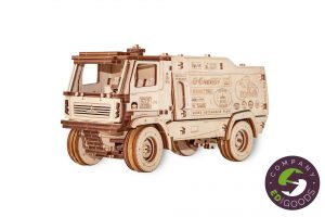 """3D puzzle truck """"MAZ"""" 1:30"""