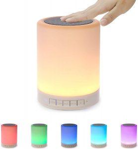 Wireless LED Bluetooth Portable Speaker Night Light BT-L008