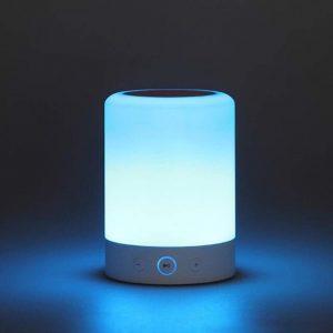 Wireless LED Bluetooth Portable Speaker Night Light BT-L006